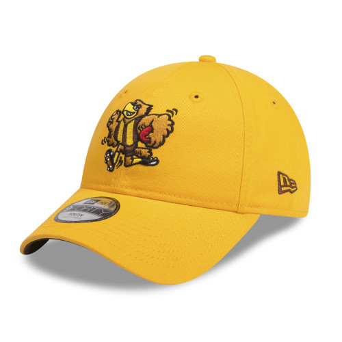 Hawthorn Football Club New Era Youth Cap - 9FORTY Adjustable - Mascot