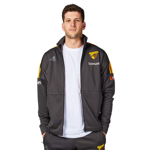 Hawthorn FC adidas brown jacket 2020