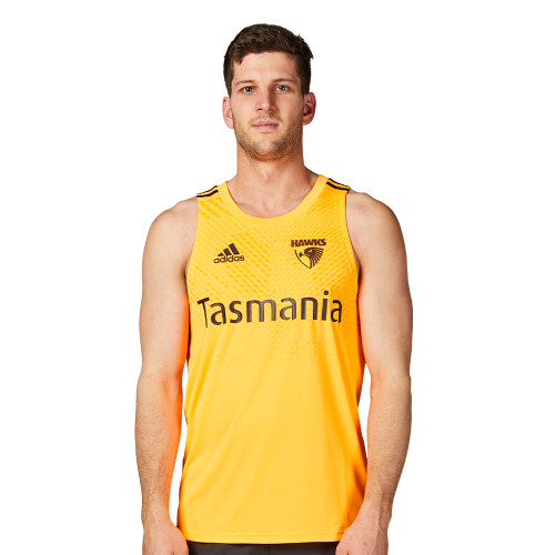 Hawthorn Football Club adidas orange training singlet 2020