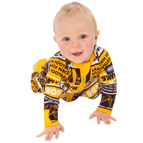 Hawthorn Bonds Hawthorn Zippy Wondersuit