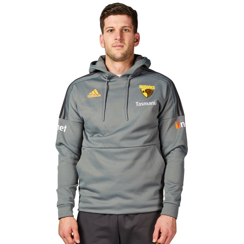Hawthorn Football Club adidas grey hoodie 2020