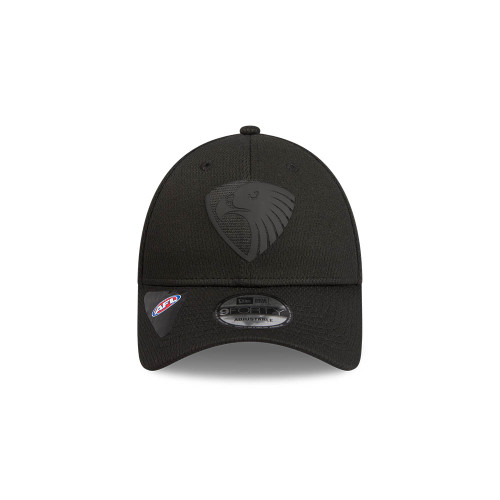Hawthorn FC New Era 9Forty Black On Black Snapback Cap
