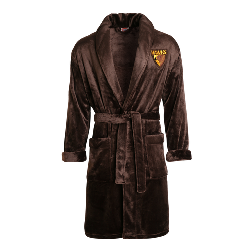Hawthorn Football Club Adult Dressing Gown