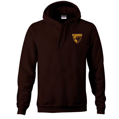 Hawthorn Football Club Mens Winter 2020 Big Logo Hood