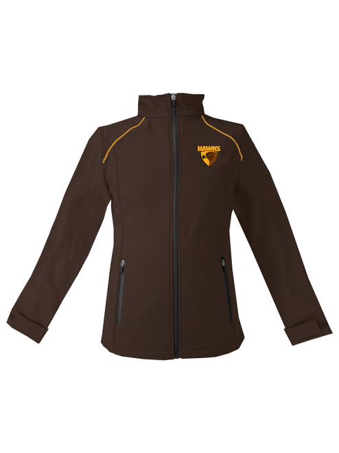 Hawthorn Football Club Womens Winter 2020 Soft Shell Jacket