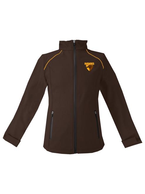 Hawthorn Football Club Womens Winter 2021 Soft Shell Jacket