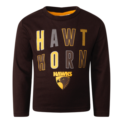 Hawthorn Football Club Toddlers Winter 2020 PJ Set
