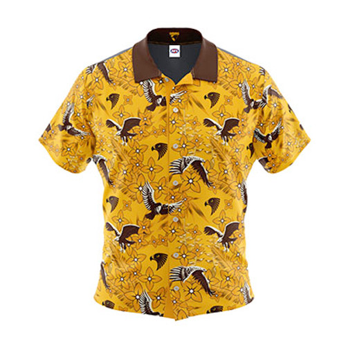 Hawthorn Football Club Mens Hawaiian Shirt