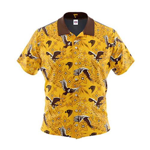 Hawthorn Football Club Hawaiian Shirt