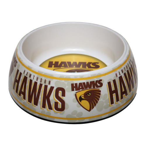 Hawthorn Football Club Dog Bowl