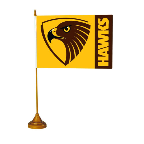 Hawthorn Football Club Desk Flag