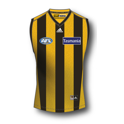 Hawthorn Football Club Luke Hodge Commemorative Guernsey