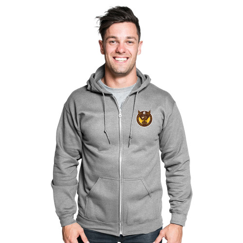 Hawthorn Football Club 1902 Mens Grey Hoodie