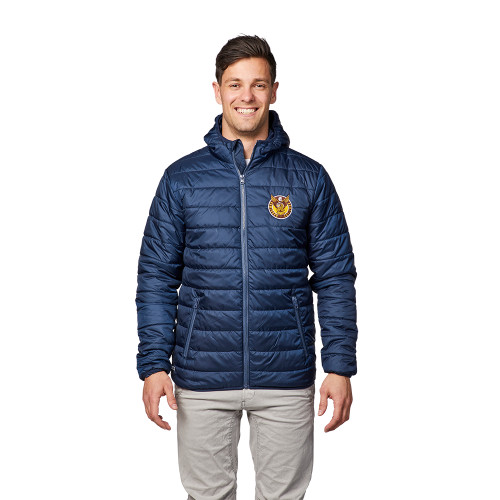 Hawthorn Football Club 1902 Mens Navy Puffer Jacket