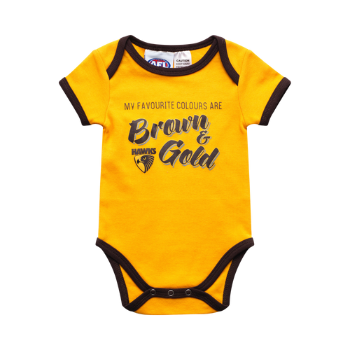 Hawthorn Football Club Summer Baby Romper 2019