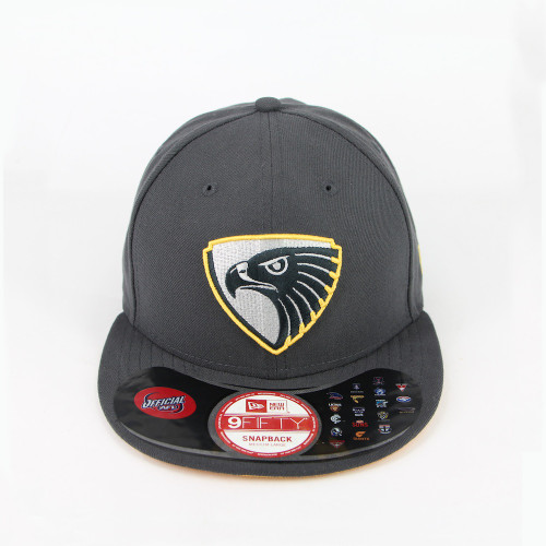 Hawthorn Football Club New Era Cap 9FIFTYå¨ Elite Graphite Snapback