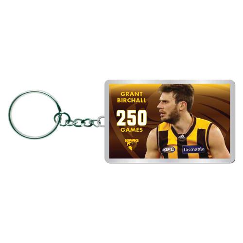 Grant Birchall 250 Games - Keyring