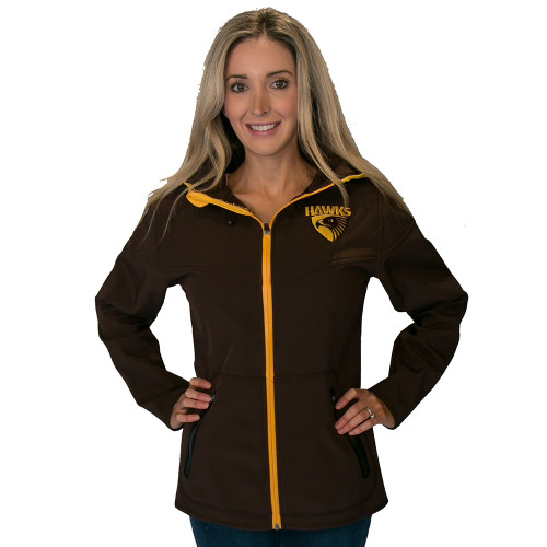 Hawthorn Football Club Women's Premium Soft Shell Jacket