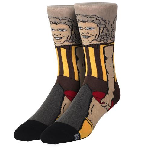 Hawthorn Dermott Brereton Nerd Socks