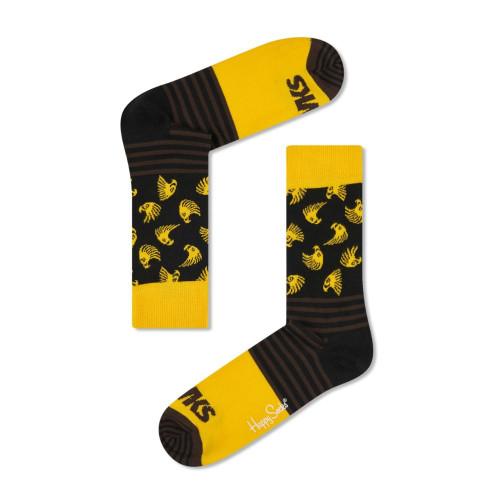 Hawthorn Happy Socks Stripes and Logo