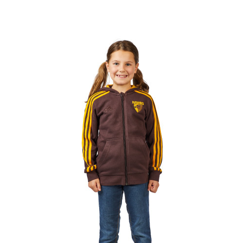 Hawthorn Football Club Youth adidas Essentials Brown Hoodie