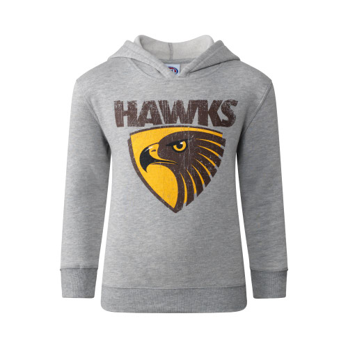 Hawthorn Football Club Printed Youth Basics Hoodie