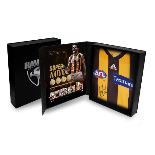 Cyril Rioli Career Tribute Home Guernsey Boxed & Signed