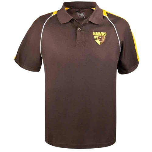 Hawthorn Football Club Mens Essentials Polo