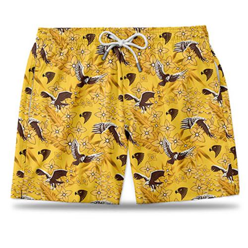 Hawthorn Football Club Hawaiian Shorts