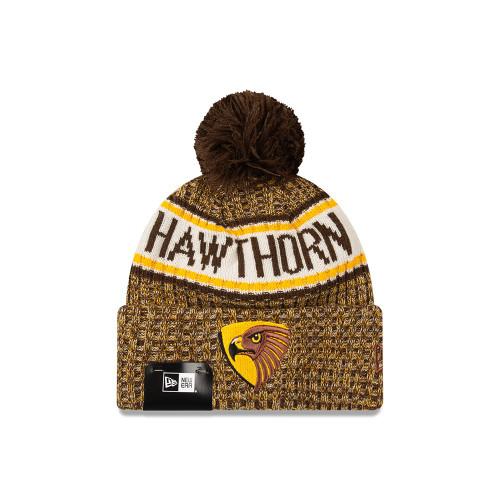 Hawthorn Football Club New Era Team Knit Beanie