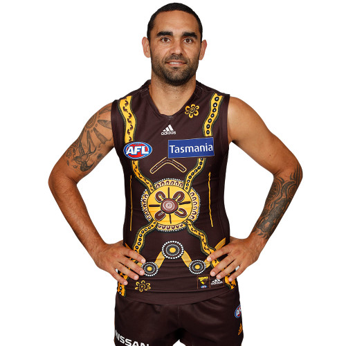 Hawthorn Football Club adidas 2020 Adult Indigenous Guernsey