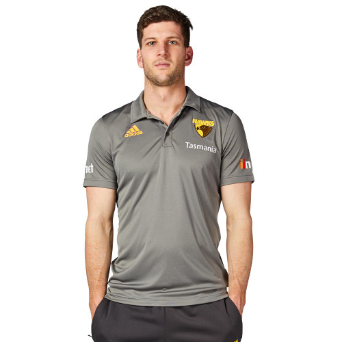 Hawthorn Football Club mens adidas 2020 travel polo