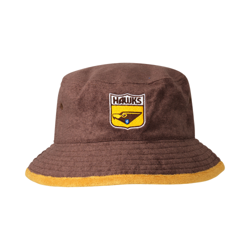 Hawthorn Football Club Adults Terry Bucket Cap