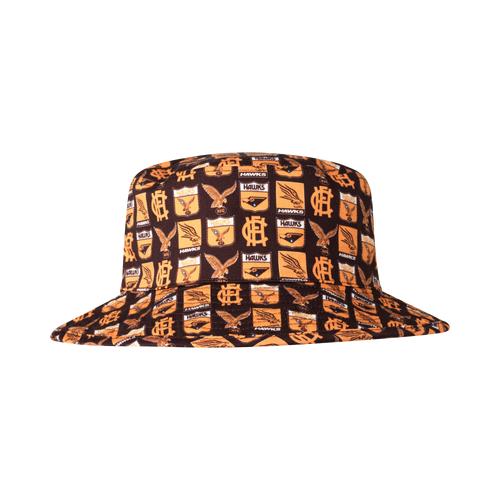 Hawthorn Football Club Adults Reversible Bucket Cap