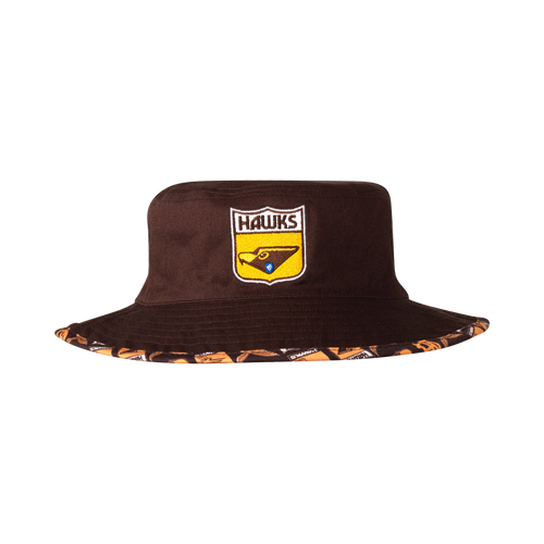 Hawthorn Football Club Youth Reversible Bucket Cap