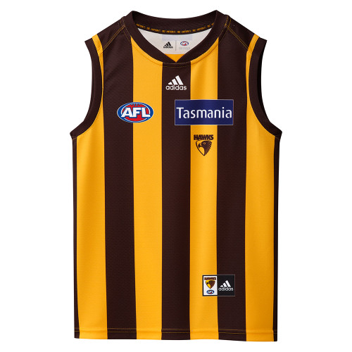 Hawthorn Football Club adidas 2021 Youth Home Guernsey