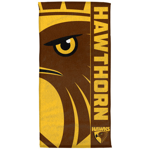 Hawthorn Football Club Beach Towel