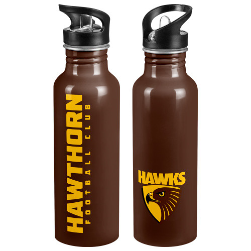Hawthorn Football Club Aluminium Sports Drink Bottle