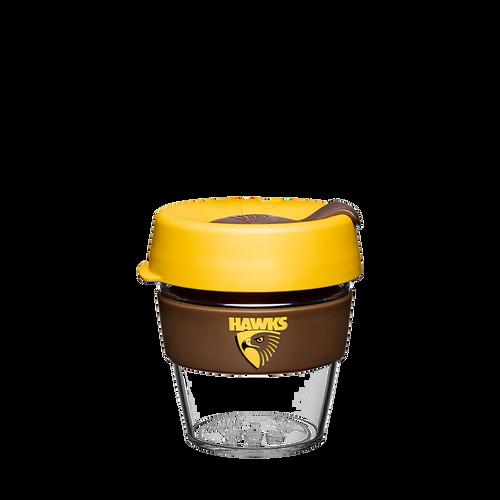 Hawthorn Football Club Keep Cup - Clear Edition Small 8oz