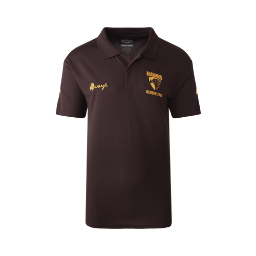 Hawthorn Football Club Men's 2021 Member Polo