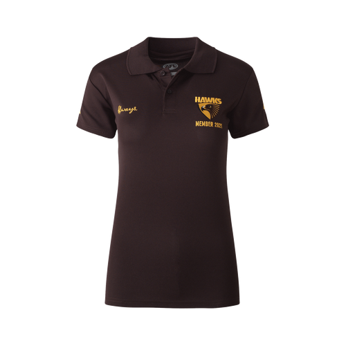 Hawthorn Football Club Women's 2021 Member Polo
