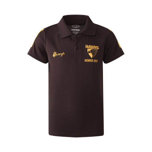 Hawthorn Football Club Youth 2021 Members Polo