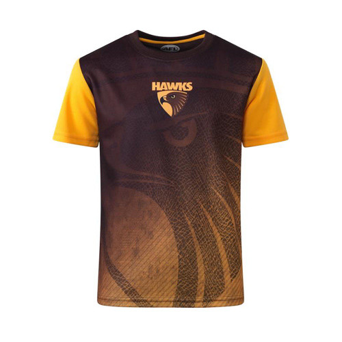 Hawthorn Football Club Youth Sublimated Tee Winter 2021