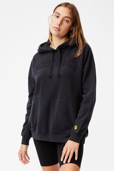 Hawthorn Football Club Women's Embroidered Pocket Hoodie COTTON:ON