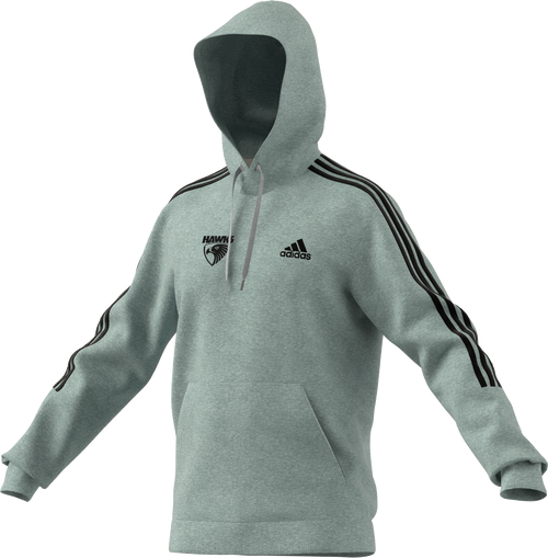 Hawthorn Football Club adidas x Hawks Fleece Cut 3-Stripes Hoodie