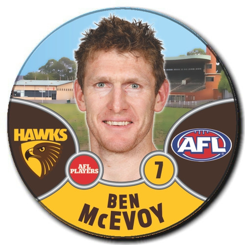 Hawthorn Football Club 2021 Player Badge