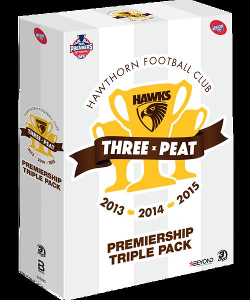 Hawthorn 2013-2015 Premiers 3-Peat Triumph DVD Pack
