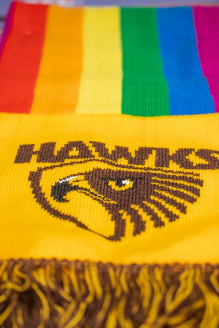 Hawthorn Football Club Pride Scarf