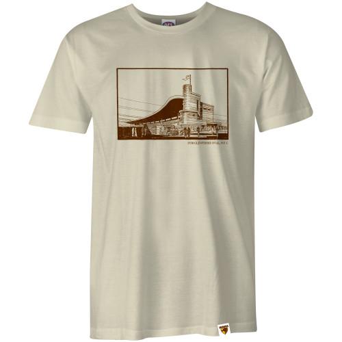 Hawthorn Football Club Adults Glenferrie Sketch T-Shirt