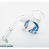 QUARTZ BANGER WITH THICK MARBLE DESIGN BOTTOM 10MM MALE (MSRP $12.99 EACH)